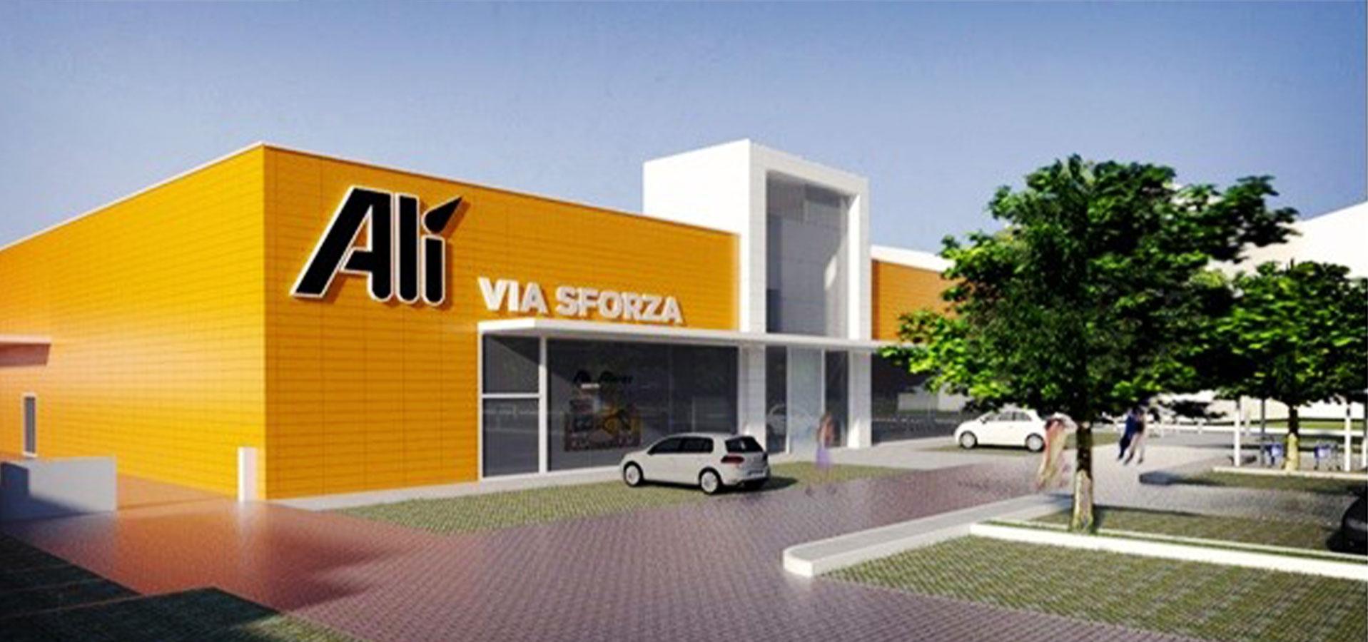 Progettazione supermercati