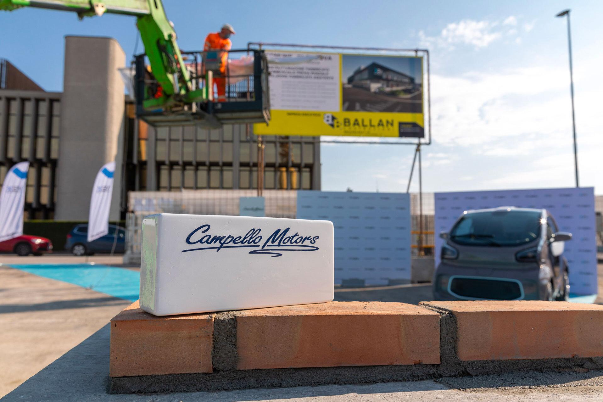 Ballan Costruzioni realizza l'innovativa Concessionaria 4.0 di Campello Motors Spa nel cuore commerciale di Padova